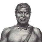 King Lobengula (1845 - 1894), second and last Mthwakazi king (1870 - 1894)
