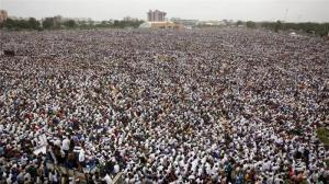 About half a million Patels rallied in Ahmedabad on Tuesday, paralysing the city, to demand preferential treatment [AP] in Aljazeera (2015).